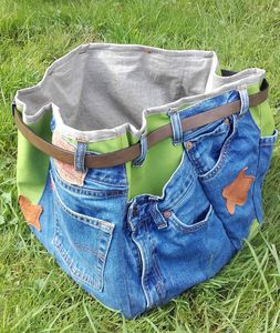 Upcycling jeans...