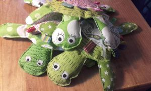 La famille tortue...