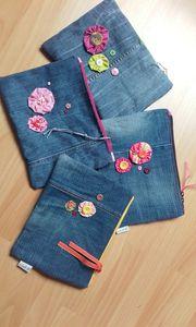 Grandes trousses en jean...