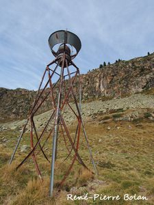 Ancien pluviomètre. Cabane de Cestrède.