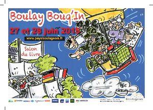 Isabelle Haury à Boulay Bouq'in les 27 et 28 juin !
