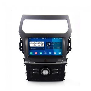 poste de radio voiture autoradio android ford exporler 2013 poste dvd gps android 4 4 4. Black Bedroom Furniture Sets. Home Design Ideas
