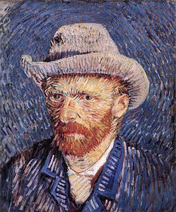 Tribute to Vincent van Gogh and to Mac Cauley by La vache rose