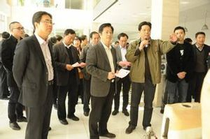 yiwu CPPCC members inspect foreign workers into the community situation