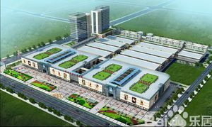 Yiwu, bash building exchanges
