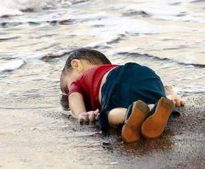 Enfant syrien mort : les crocodiles pleurent.