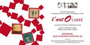 Exposition l'art O'Carré