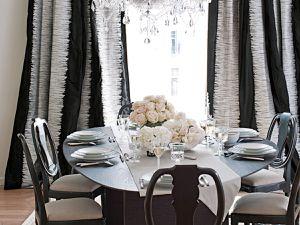 salle à manger black&white