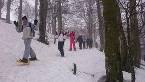 Jour 4: raquettes sur les Hautes-Vosges