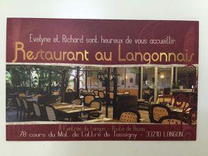 Restaurant au Langonnais