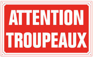 Attention troupeaux