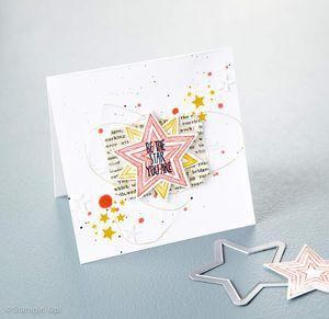 Framelits étoiles