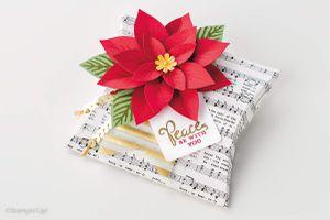Fleur festive en kit avec perfo