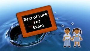 Say bye to your child's exam blues
