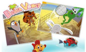 Le jeu flash Beach Volley