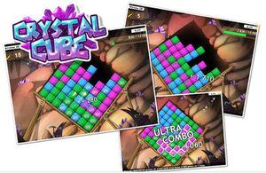 Le jeu en ligne Crystal Cube