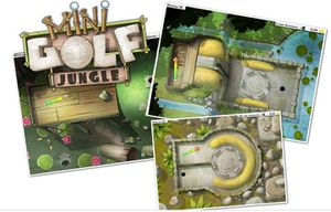 Le jeu d'adresse Mini Golf Jungle
