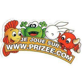 Les joyeuses mascottes de Prizee
