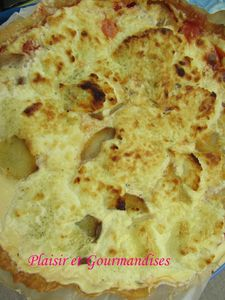 Tarte Courgettes/Thon/Brousse