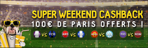 Super week end cashback