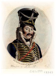 Le major Von Schill - Source : BNF-Gallica