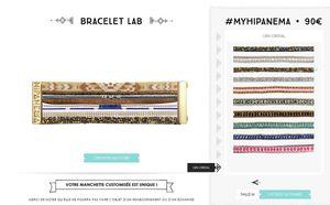 Waouh!!! des bracelets Hipanema personnalisables!