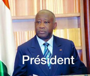 LE PRESIDENT GBAGBO LAURENT