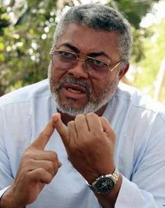 LE PRESIDENT JERRY RAWLINGS