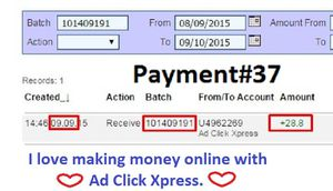 One more payment from ACX!!!