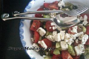 salade grecque, une recette pour faire durer l'été
