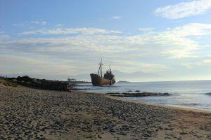 la plage du bateau