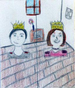 5e - Portraits du Roi et de la Reine