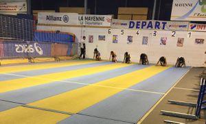 Meeting Athlétisme en Salle à Mayenne
