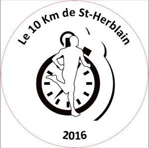Retrait des dossards 10 km de Saint HERBLAIN