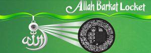 Spiritual Allah Barkat Locket