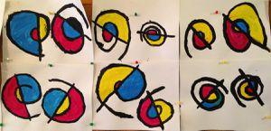 A la manière d'Alexander Calder (Graphisme : les spirales) GS