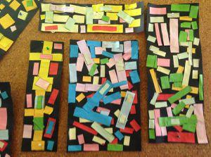 A la manière de Piet Mondrian (Graphisme : les lignes verticales et horizontales) GS