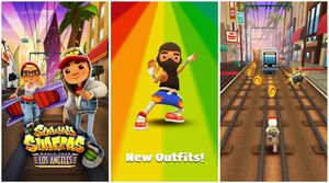 Subway surfers in Moscow
