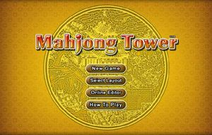 Games Mahjong Tower