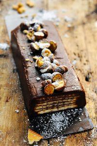 Gâteau chocolat et petit beurre