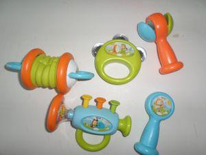 Instruments de musique pour les plus petits