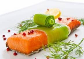 Recettes riches en proteines : Papillote de saumon aux poireaux