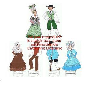 Costume traditionnel de France : Articles - souvenirs