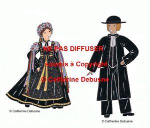 Costumes traditionnels de France