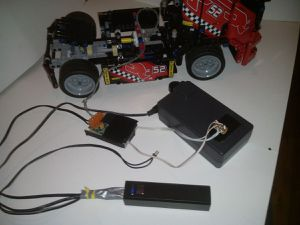The Truck with its electronic parts
