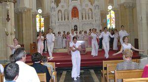 La danse &quot&#x3B;liturgique&quot&#x3B;