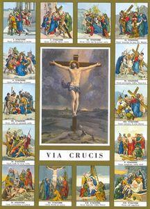 Sixième moyen de soulager les âmes du purgatoire: le chemin de croix