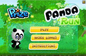 Games Run Panda Run