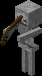 Le Squelette dans Minecraft