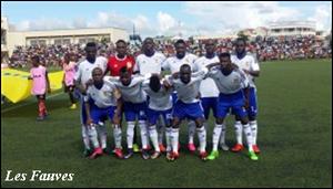 Classement FIFA: Le Centrafrique gagne 14 places